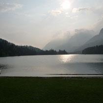 Abendstimmung am Reintaler-See