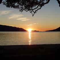 Sonnenuntergang am CP Palme