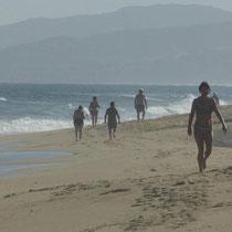 am Strand von Valledoria