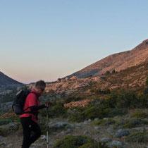 Aufbruch zum Top of Kreta bei Sonnenaufgang