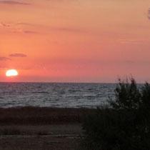 Sonnenuntergang bei Is Arutas
