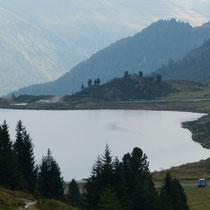 Bergsee am Staller-Sattel