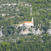Blick vom Meer auf das Augustinerkloster