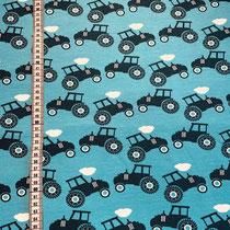 S-005 Sommersweat Traktor türkis