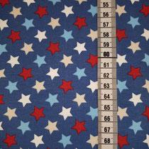 J-003 Sterne blau mix