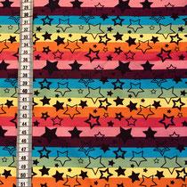 J-014 Streifen bunt Sterne