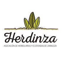 Logotipo para Unión de Herbolarios de Zaragoza.