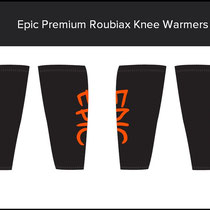 Epic Premium Roubaix Knee Warmers Design