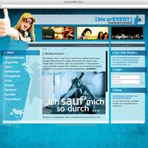 <h1>Schulpräventionsarbeit blu:PRevent</h1><h3>(Konzept, Webdesign und Programmierung) nicht mehr online</h3>