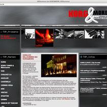 <h1>Portal KORG&MORE</h1><h3>(Konzept & Webdesign) nicht mehr online</h3>
