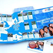 <h1>Mailingflyer</h1><p>Für den Reiseveranstalter Reise-Werk gestalten wir seit Jahren Kataloge, Flyer, Mailings, Messestand und Internetauftritt. </p>