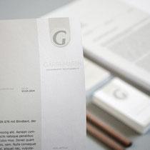 <h1>Corporate Design-Entwicklung</h1><p>Für diese Kanzlei wurden Logo und Corporate Design entwickelt.</p>