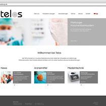 <h1>Telos GmbH</h1><h3>(Konzept & Webdesign)</h3>