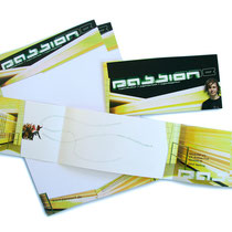 <h1>Corporate Design-Entwicklung</h1><p>Für den gemeinnützigen Verein PASSION1 e.V. haben wir Logo und Corporate Design entwickelt und seither zahlreiche Printprodukte sowie die Internetseite realisiert.</p>