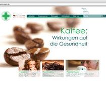 "<h1>Kaffee Wirkungen</h1><h3>(Konzept & Webdesign)<br><a href=""http://www.kaffee-wirkungen.de/"" target=""_blank"">www.kaffee-wirkungen.de</a></h3>"