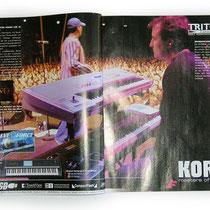 <h1>Anzeigenkampagne</h1><p>Für KORG&MORE haben wir mehrere Jahre zahlreiche Produktbroschüren, Kataloge, Messebedarf, Anzeigen sowie das Onlineportal realisiert – hier eine Anzeigeserie mit den Söhnen Mannheims.</p>