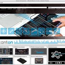 <h1>STANTON Deutschland</h1><h3>(Konzept & Webdesign) nicht mehr online</h3>