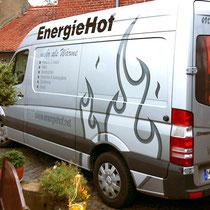 <h1>Fahrzeugbeschriftung</h1><p>Für die Firma EnergieHof haben wir außerdem u.a. ein Gestaltungskonzept, Internetauftritt, Geschäftsausstattung, Anzeigen und Flyer realisiert.</p>