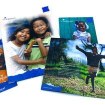 <h1>Broschüren und Werbemittel</h1><p>COMPASSION ist das weltweit größte christliche Kinderhilfswerk mit 1,5 Mio. Patenkindern. Für den deutschen Zweig gestalten wir seit vielen Jahren alle Informations- und Werbemittel sowie große Anzeigenkampagnen.</p>