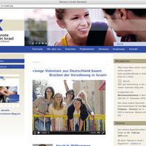 """<h1>Dienste in Israel</h1><h3>(Konzept, Webdesign und Programmierung)<br><a href=""""http://www.dienste-in-israel.de/"""" target=""""_blank"""">www.dienste-in-israel.de</a></h3>"""
