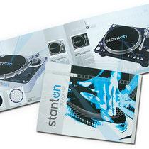 <h1>Produktbroschüre</h1><p>STANTON ist ein weltweit führender Hersteller von DJ-Produkten. Umgesetzt wurden für den deutschen Markt u.a. auch der Internetauftritt und Anzeigenkampagnen.</p>
