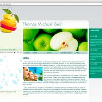 <h1>Ernährungscoach Thomas Riedl</h1><h3>(Konzept, Webdesign und Programmierung) nicht mehr online</h3>