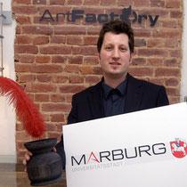 <h1>Corporate Design-Entwicklung</h1><p>2008 wurden wir beauftragt, Logo und ein Corporate Design für die Universitätsstadt Marburg und die MTM zu entwickeln. Seither haben wir eine Online-CD-Plattform und zahlreiche Print- und Werbeprodukte realisiert.</p>