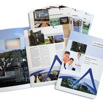 <h1>Broschüren und Tagungsmappe</h1><p>Für die Marburg Tourismus und Marketing GmbH (MTM) haben wir 2008 das Logo und Corporate Design entwickelt und seither unzählige Broschüren, Anzeigen und Werbemittel gestaltet.</p>