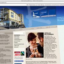 """<h1>Hotel im Kornspeicher</h1><h3>(Konzept & Webdesign)<br><a href=""""http://www.hotel-kornspeicher.de/"""" target=""""_blank"""">www.hotel-kornspeicher.de</a></h3>"""