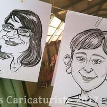 Animation caricatures, anniversaire, Lunéville
