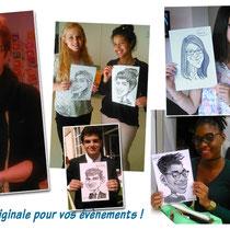 Animations caricatures Nancy-Metz