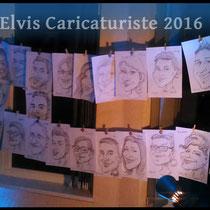 Animation caricaturiste, mariage, Moselle