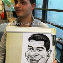 Animation caricatures, Université du Luxembourg