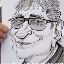 Animation caricaturiste Foire Châlons AG2R
