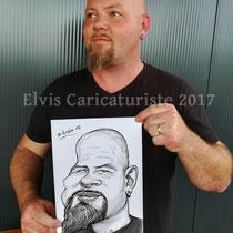 Animation caricaturiste, fête
