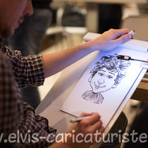 Animation caricatures, anniversaire