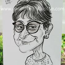 Animation caricaturiste Epinal