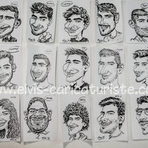 Animation caricatures