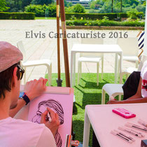 Animation caricaturiste, ICN business school Metz
