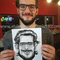 Animation caricaturiste Luxembourg
