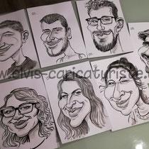 Animation caricaturiste étudiants