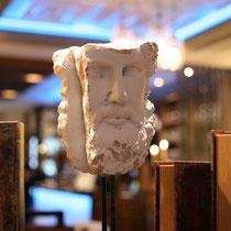 Griechische Dekoration, ganz im Stil unseres Poseidon