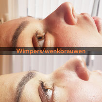 Wimpers / Wenkbrauwen
