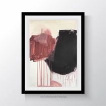 duo. 29,7 x 42 cm. Acryl, Pastell auf Papier. Iris Lehnhardt 2019
