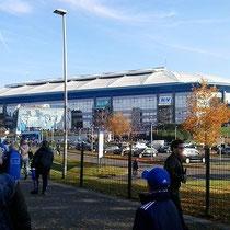 Auf dem weg zum Stadion