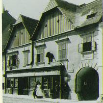 Niedermarkt, Schrannenhof, um 1910