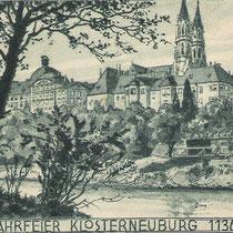 Stift Klosterneuburg, um 1870