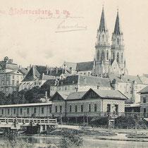 Bahnhof Kierling, 1899