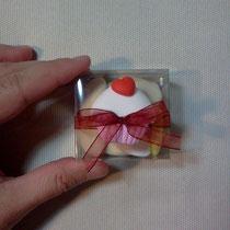 bomboniera battesimo scatoletta fimo muffin FIMOCHEPASSIONE