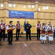 "Concierto en la sala mayor de Radio Blagoevgrad, Bulgaria, junto al grupo ""Veselina"", dirigido por Veselinka Boyanova. Octubre de 2017."